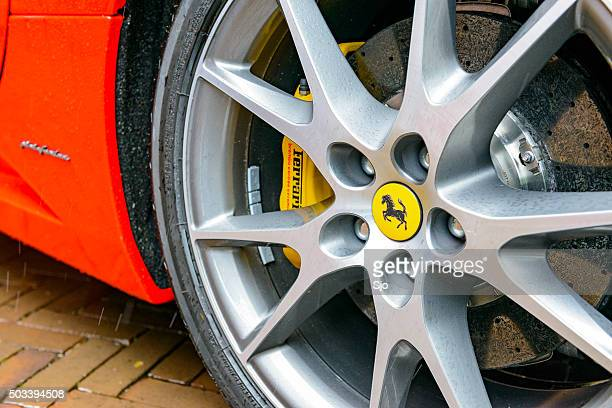 Ferrari California  convertible sports car wheel