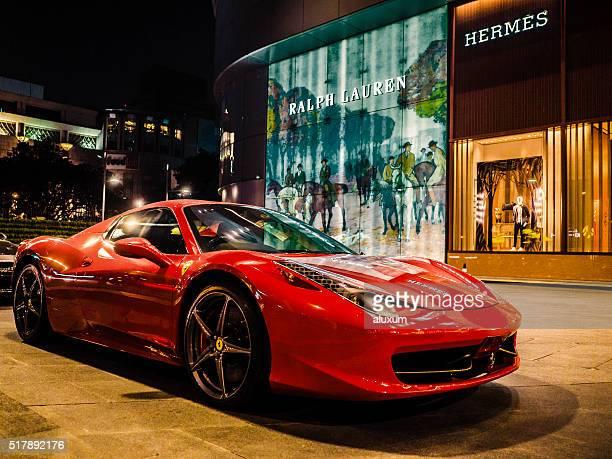 Ferrari auto di Bangkok Tailandia