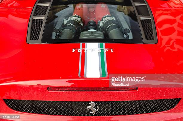 Ferrari F430 - Detail of the motor