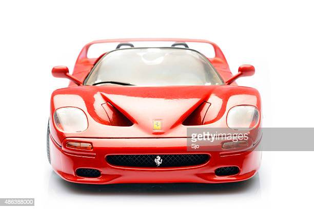 Ferrari F50 supercar scale model front view