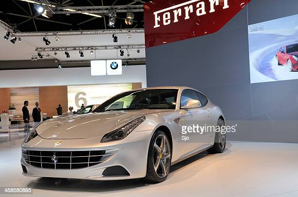 Ferrari FF Italian Gran Turismo sports car motor show