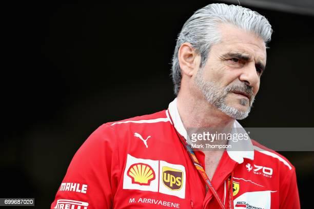 Ferrari Team Principal Maurizio Arrivabene during previews ahead of the European Formula One Grand Prix at Baku City Circuit on June 22 2017 in Baku...