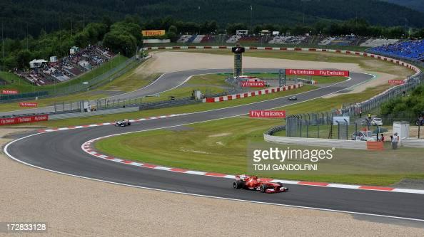Nürburgring Strecke Stock-Fotos und Bilder