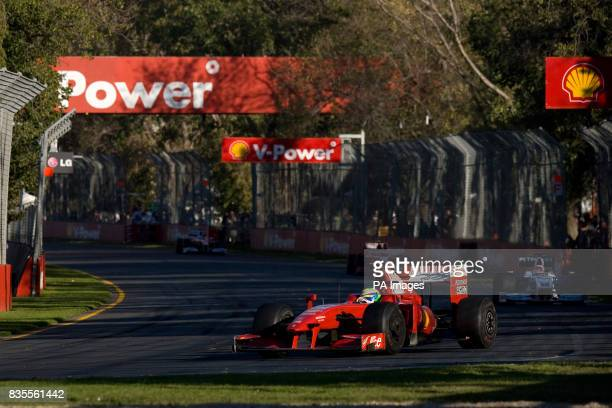 Ferrari's Felipe Massa during the Australian Grand Prix at Albert Park Melbourne Australia
