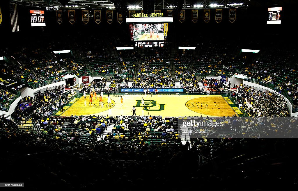 Ferrell Center during a game between the Baylor Bears and the Oklahoma State Cowgirls on January 11 2012 in Waco Texas The Baylor Bears defeated the...