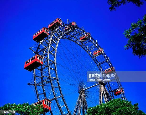 Ferries Wheel, Prater, Vienna, Austria