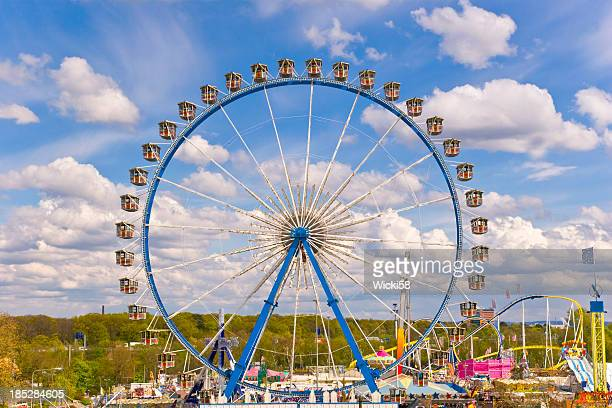 Ferris Wheel at a Amusement Park