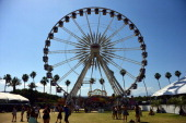 Ferris wheel is seen during day 3 of the 2014 Coachella Valley Music Arts Festival at the Empire Polo Club on April 20 2014 in Indio California