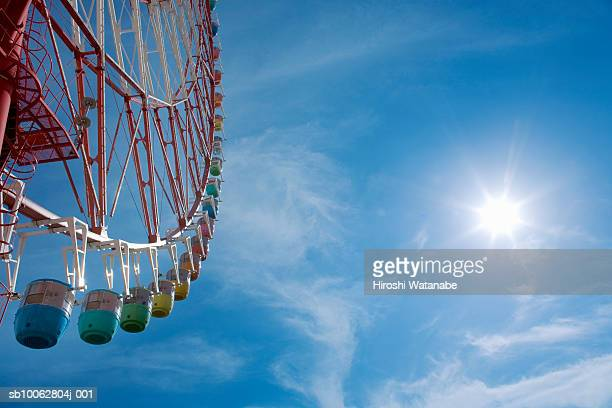 Ferris wheel, low angle view