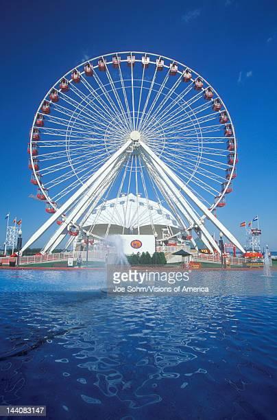 Ferris Wheel Navy Pier Chicago Illinois