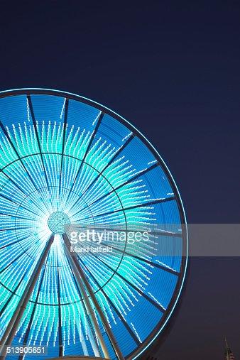 Ferris Wheel on Waterfront in Seattle
