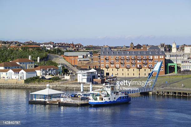 Ferry across River Tyne, South Shields, Tyne and Wear, England
