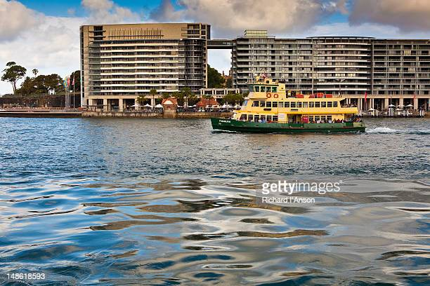 Ferry and Bennelong Apartments at Circular Quay.