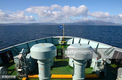 Ferry bow : Stock Photo