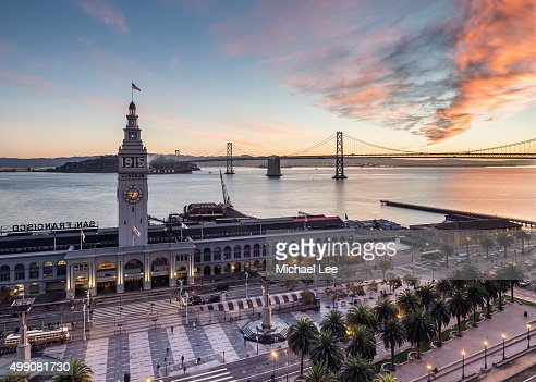 Ferry Building Sunrise - San Francisco