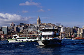 Ferry on the Bosporus in Istanbul