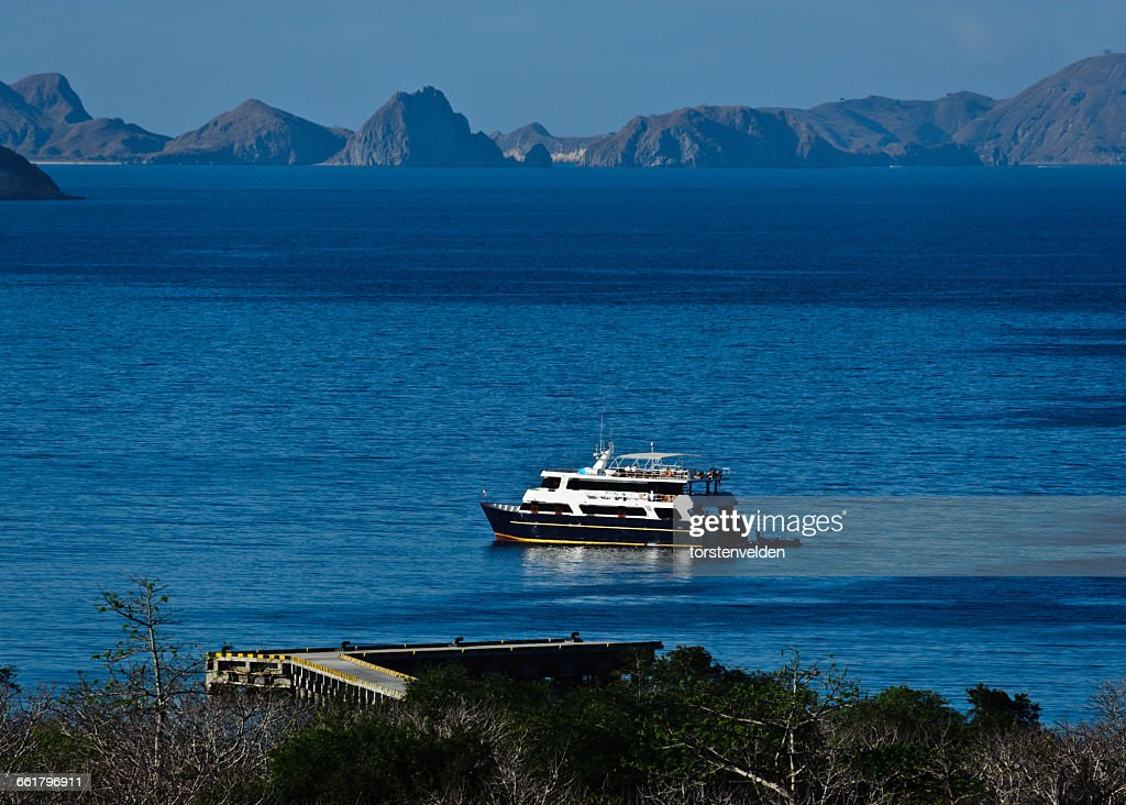 Ferry sailing, Komodo National Park, East Nusa Tenggara, indonesia