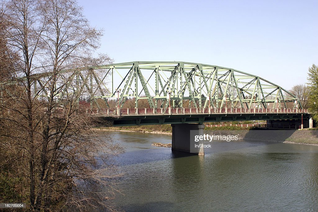 Ferry Street Bridge in Eugene Oregon