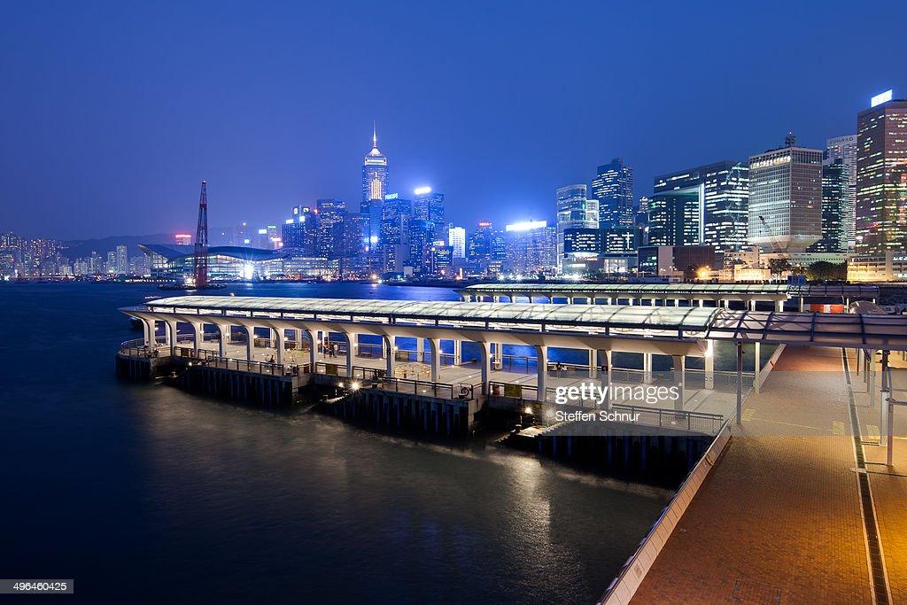 ferry terminal Hong Kong Island
