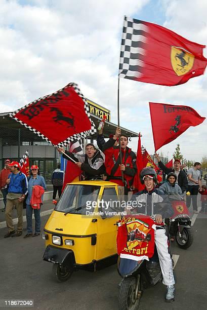 Festival Celebrating Ferrari F1 Driver Michael Schumacher's 6 World Championship