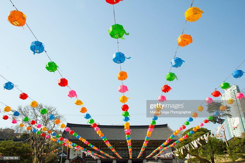 Festival celebrations for Buddha's birthday