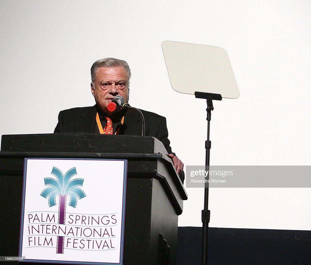 Festival Chairman Harold Matzner at The 24th Annual Palm Springs International Film Festival Opening Night Screening And Receptionon January 3, 2013 in Palm Springs, California.