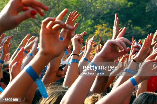 Festival Crowd Hands