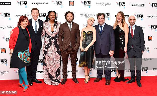 Festival director Claire Stewart producers Kevin Walsh Kimberly Steward actors Casey Affleck Michelle Williams director Kenneth Lonergan producer...