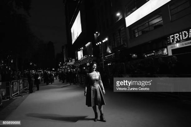 Festival director Clare Stewart attends the American Airlines Gala and UK Premiere of 'The Shape Of Water' during the 61st BFI London Film Festival...