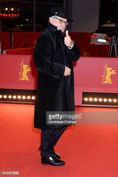 Festival director Dieter Kosslick attends the 'Crosscurrent' premiere during the 66th Berlinale International Film Festival Berlin at Berlinale...