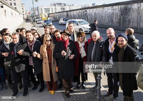 Festival director Dieter Kosslick British actress Sienna Miller Mexican director Diego Luna Tunisian Producer Dora Bouchoucha Fourati German actor...