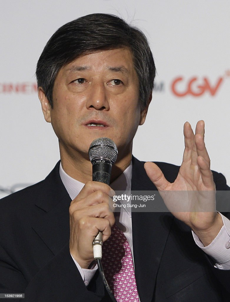 Festival director Lee Yong-Kwan attends a Closing Film 'Television' Press Conference during the 17th Busan International Film Festival (BIFF) at Busan Cinema Center on October 11, 2012 in Busan, South Korea. The biggest film festival in Asia showcases 304 films from 75 countries and runs from October 4-13.