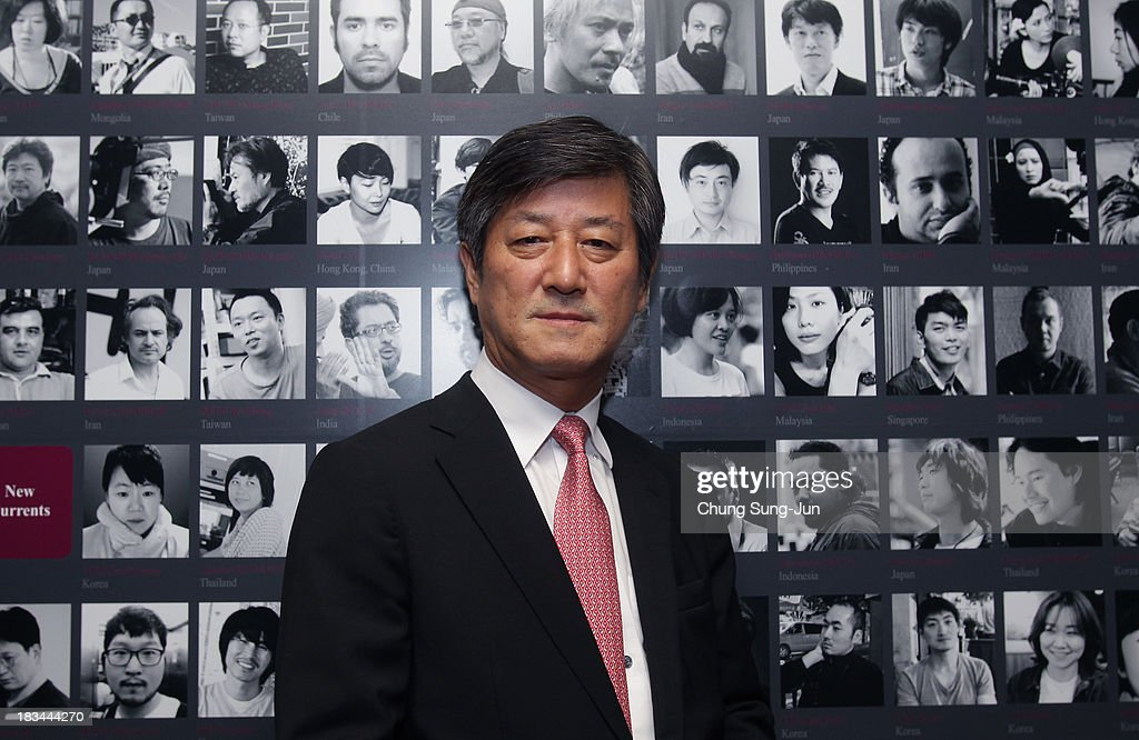 Festival director Lee Yong-Kwan poses during the Filmmakers Night at the Park Hyatt hotel during the 18th Busan International Film Festival (BIFF) on October 6, 2013 in Busan, South Korea. The biggest film festival in Asia showcases 299 films from 70 countries and runs from October 3-12.