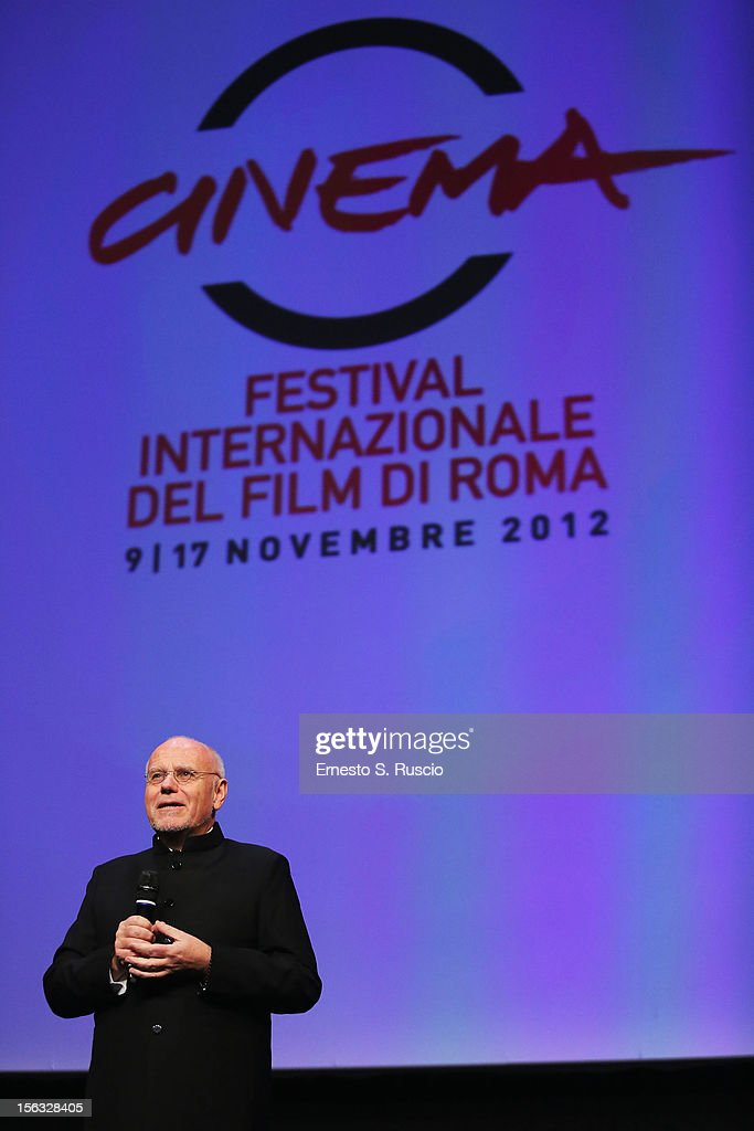 Festival director Marco Mueller attends the Vanity Fair International Award for Cinematic Excellence presentation at the 7th Rome Film Festival on November 13, 2012 in Rome, Italy.