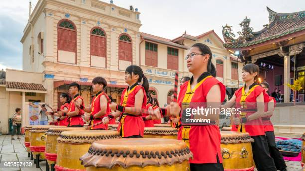 24 Festival Drums Performance in Penang, Malaysia