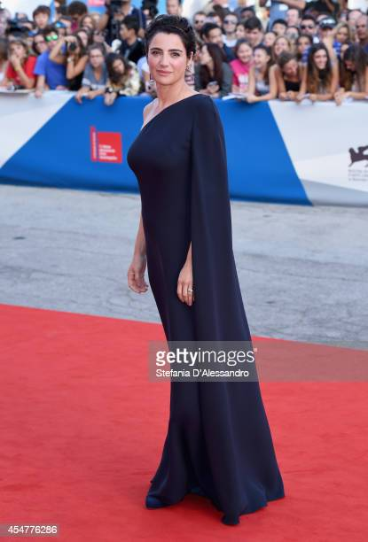Festival hostess and actress Luisa Ranieri attends the Closing Ceremony of the 71st Venice Film Festival on September 6 2014 in Venice Italy