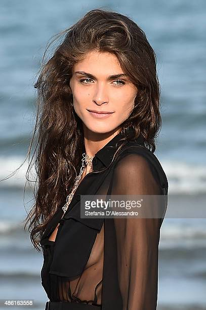 Festival hostess Elisa Sednaoui attends a photocall during the 72nd Venice Film Festival on September 1 2015 in Venice Italy