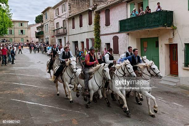 Festival Of Bulls, Vauvert, Petite Camargue, Gard, France