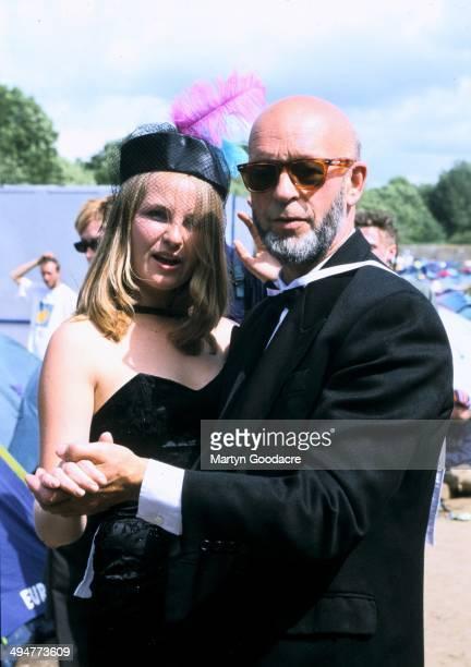 Festival organiser Michael Eavis at Glastonbury United Kingdom 2000