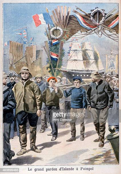 Festival Paimpol France 1898 An illustration from Le Petit Journal 27th February 1898