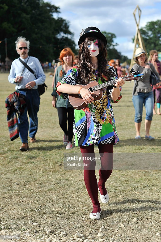 Festival performers on day 4 of Wilderness Festival on August 11, 2013 in Cornbury Park, Oxfordshire, England.