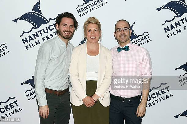 NFF Festival Producer Bill Curran NFF Executive Director Mystelle Brabbee and NFF Film Program Director Basil Tsiokos attend the opening night film...