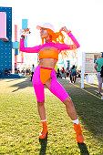 Street Style At The 2019 Coachella Valley Music And...