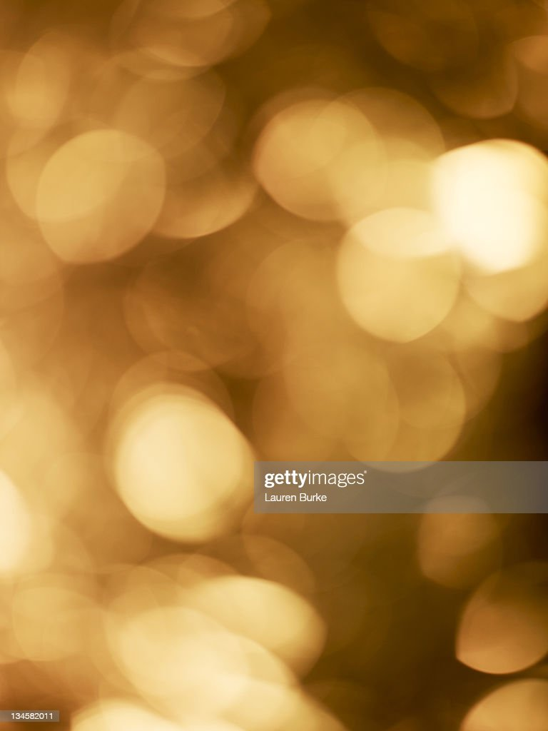 Festive Lights Blurred : Stock Photo