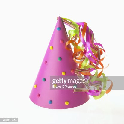 Festive party had with ribbons : Stock Photo