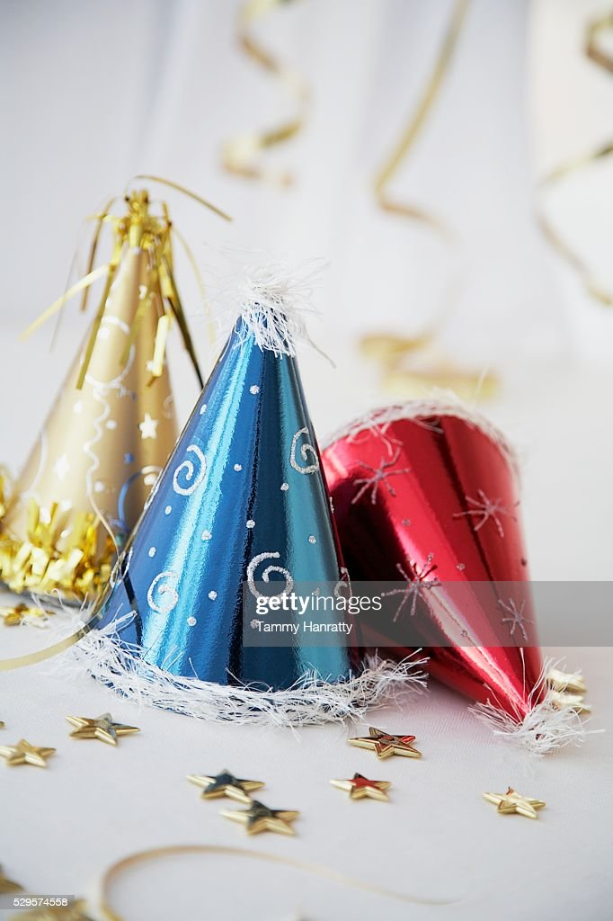 Festive Party Hats : Stock-Foto