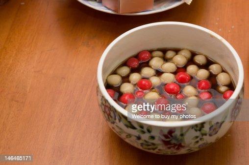 Festive rice balls : Stock Photo