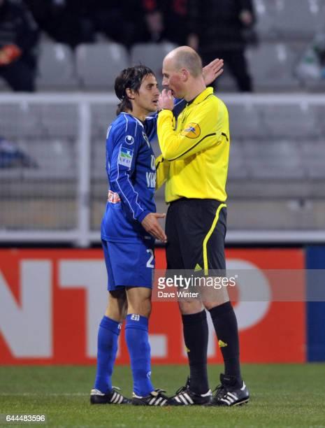 Fethi HAREK / Antony GAUTIER Auxerre / Bastia Coupe de la Ligue 8eme de finale hoto Dave Winter / Icon Sport