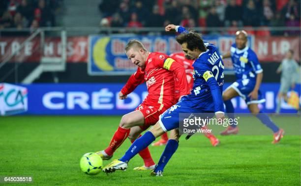 Fethi HAREK / Rudy MATER Valenciennes / Bastia 30eme Journee de Ligue 1 Photo Dave Winter / Icon Sport
