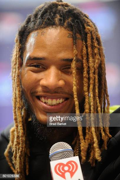 Fetty Wap attends Z100's Jingle Ball 2015 at Madison Square Garden on December 11 2015 in New York City